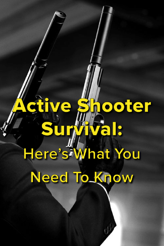 Here's what you need to know to survive a mass shooting
